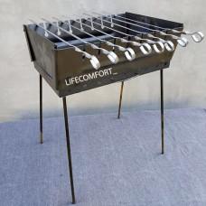 Мангал для шашлыков 2мм 8шампуров