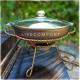 Садж 28 см с чугунной сковородкой витой мини